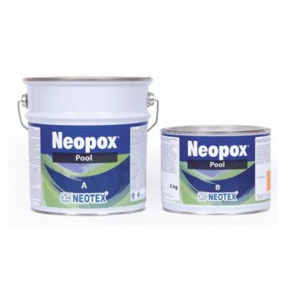 farba basenowa niebieska neopox pool