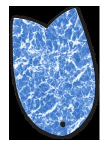 folia basenowa membrana basenowa marmor blau
