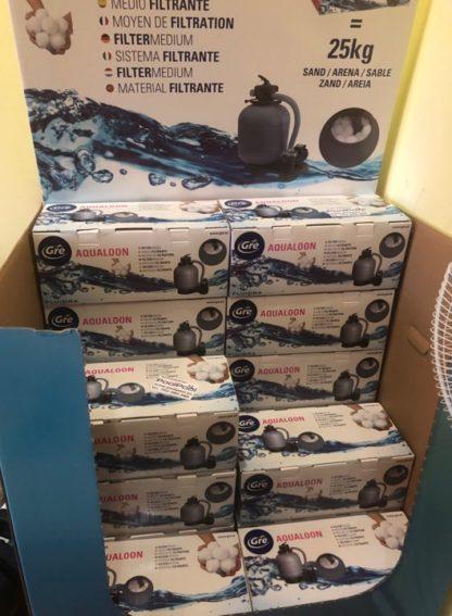 Aqualoon GRE kule filtracyjne do basenu w sklepie stacjonarnym
